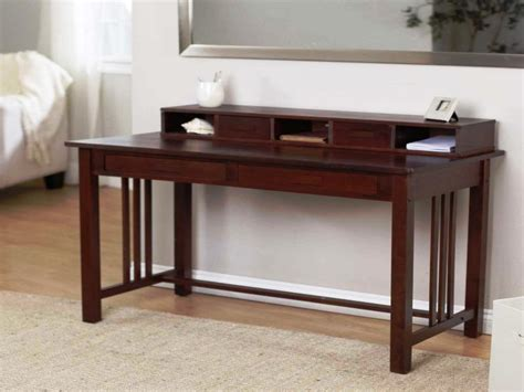 Small Brown Desk Small Brown Desk Best Home Design 2018