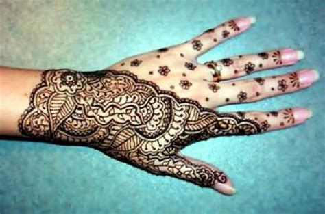 henna temporary tattoos for hand women pictures fashion