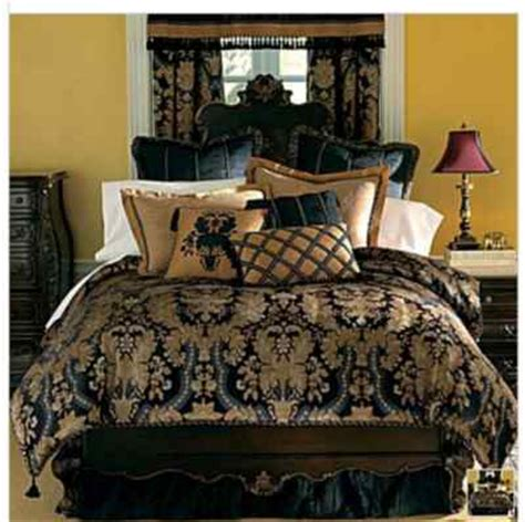 chris madden bedding chris madden midnight damask comforter set king new