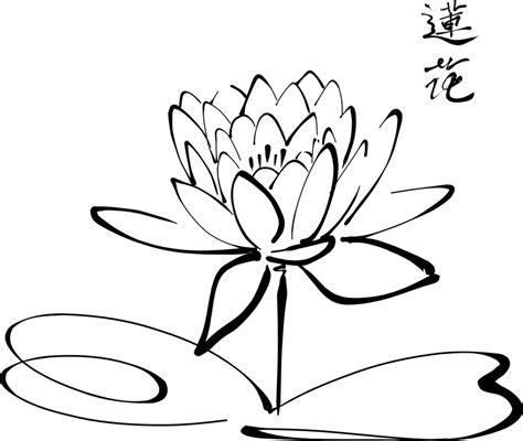 gambar bunga tulip animasi hitam putih