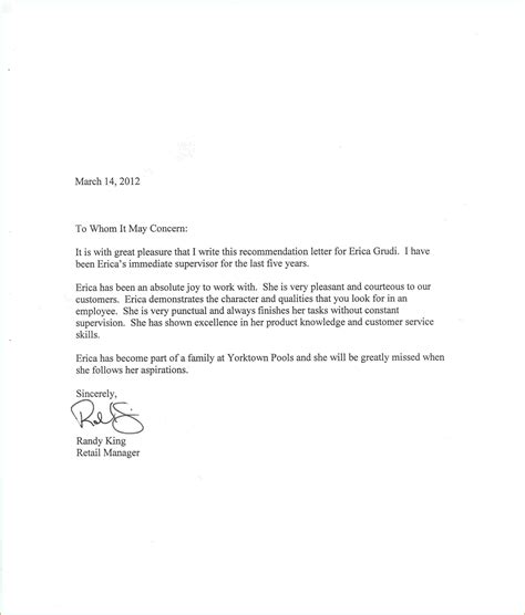 Recommendation Letter For Order Sle Letter Of Recommendation Employment Local Purchase Order Form
