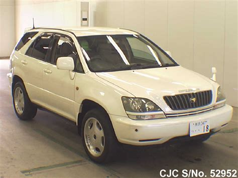Toyota Harrier 2000 Model 2000 Toyota Harrier Pearl For Sale Stock No 52952