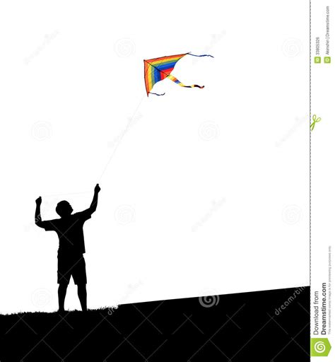 man and kite stock photo image of breeze flying people