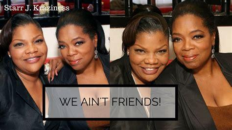 oprah winfrey family monique i am coming for you oprah winfrey because you