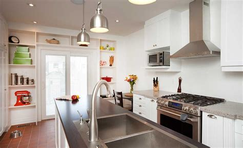 White Kitchen Pendant Lighting Electrics Lighting Homebuilding Renovating