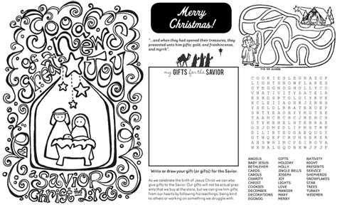 printable christmas placemats to color printable christmas coloring placemat coloring pages