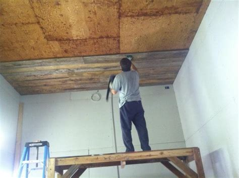 How To Put Wood On Ceiling by Craftaholics Anonymous 174 How To Add A Wood Ceiling Diy
