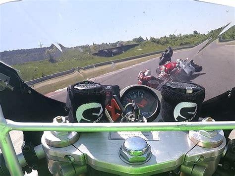 T V Motorrad by Kawasaki Zx 7r Crash Autodrom Most