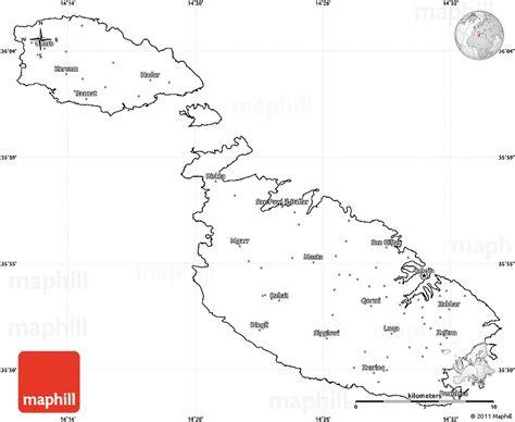 printable road map of malta malta free maps free blank maps free outline maps free