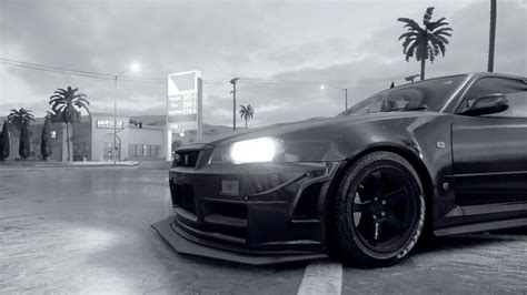nissan r34 black needforspeedbuilds bringing in successor no 2
