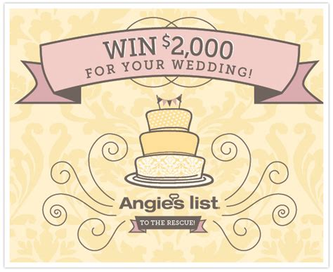 Facebook Sweepstakes List - angie s list to the rescue facebook contest giveaway contest sponsored post