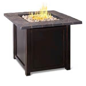 Gas Firepit Tables Threshold 30 Quot Square Lp Gas Pit Table With Target