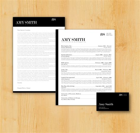 job seeker package original resume and cover letter