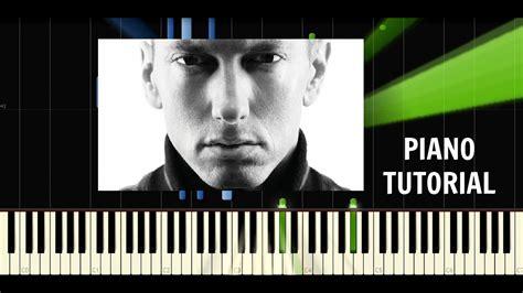 tutorial piano eminem eminem beautiful pain ft sia piano easy tutorial