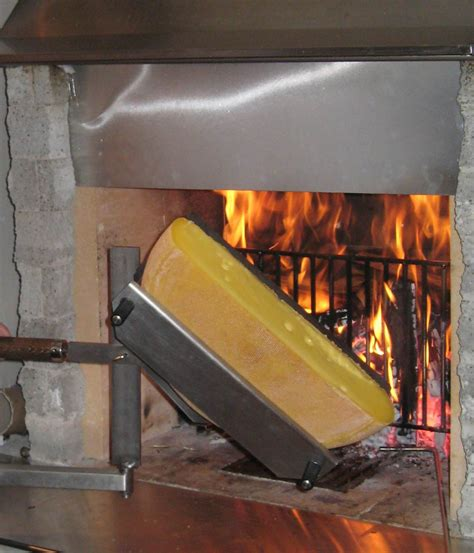 mimosa cheminee raclette feuer chemin 233 e support