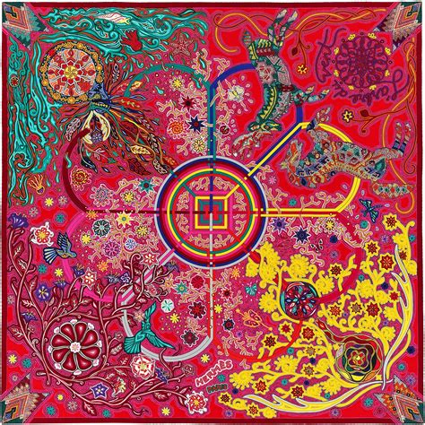 Hermes Satin Shawl 140 x 140 cm shawl herm 232 s l arbre du vent tyyli 2018