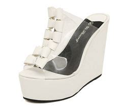Sandal Wedges Zr01 Putih 80 kode awf 304 nama wedges sendal korea putih transparan price idr 175 s wedges