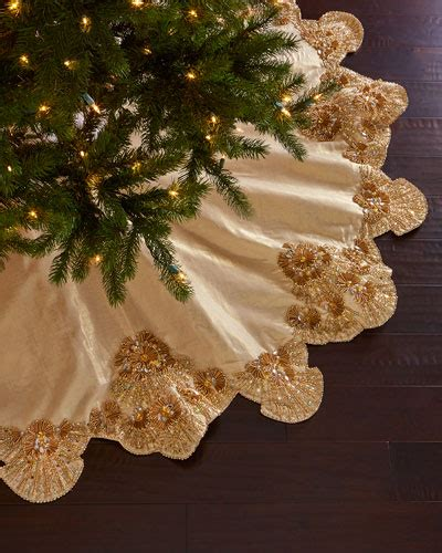 elegant christmas tree skirts nmf16 h7wjb