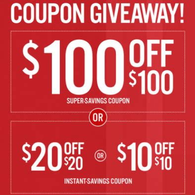 Jcpenney Giveaway Coupons 2017 - it s back jcpenney s coupon giveaway get up to 100 100 details inside grocery coupons