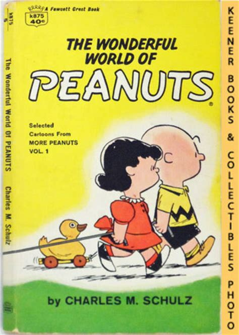 the wonderful world book 037032711x the wonderful world of peanuts selected cartoons from more peanuts volume 1 by charles m