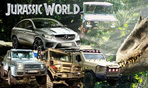 jurassic park car mercedes jurassic world mercedes heade3r