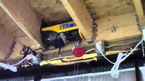 rons projects horizontal bifold garage door