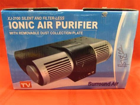 lot detail new in box ionic air purifier xj 2100