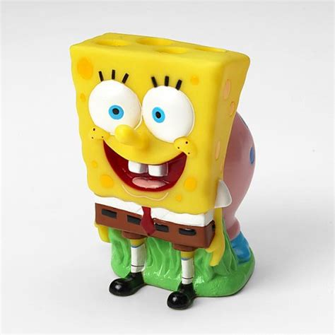Spongebob Squarepants Bathroom Accessories Spongebob Squarepants Toothbrush Holder