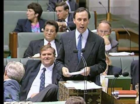 liberal party front bench treasurer keating goes after the liberal front bench