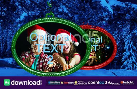 template after effects new year christmas new year project after effects template