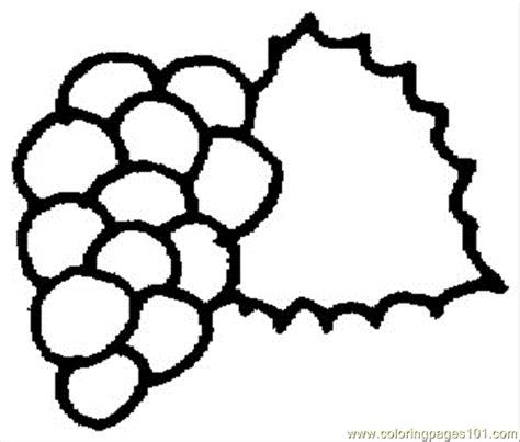 free coloring page of grapes grape 7 coloring page free grapes coloring pages