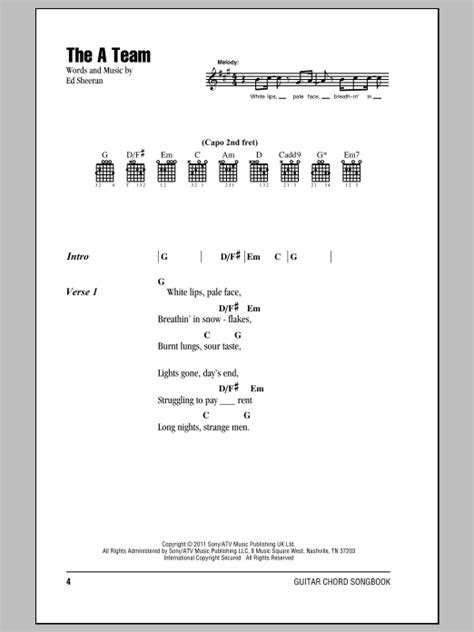 ed sheeran chords a team the a team by ed sheeran guitar chords lyrics guitar