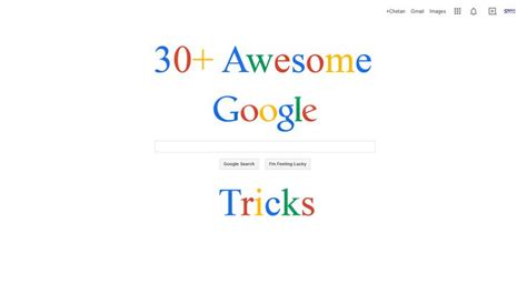 google images you are awesome 30 awesome google tricks sarvi solutions