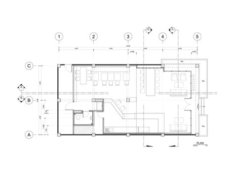 layout de um cafe galeria de caf 233 murasaki fattstudio 10