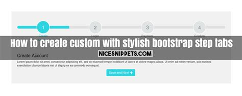 bootstrap layout step by step how to create custom with stylish bootstrap step tabs