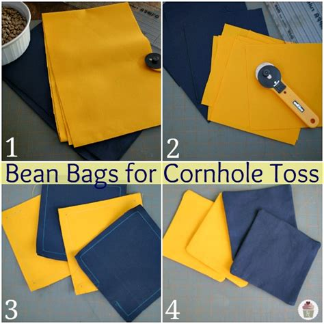 how to sewing your own cornhole bags sewing pinterest