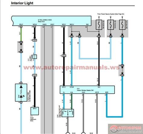toyota landcruiser 100 series wiring diagram