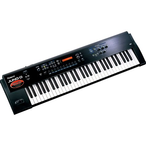 Keyboard Juno disc roland juno d keyboard synthesizer at gear4music