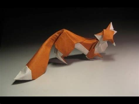 Origami Fox Tutorial - 17 best images about origami on origami