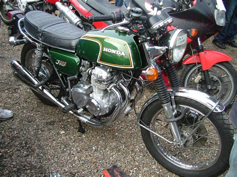 honda cb 350 four 1974 moto puces elbeuf 2008 flickr