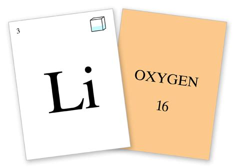 printable periodic table flash cards periodic table of the elements flash cards antiquated