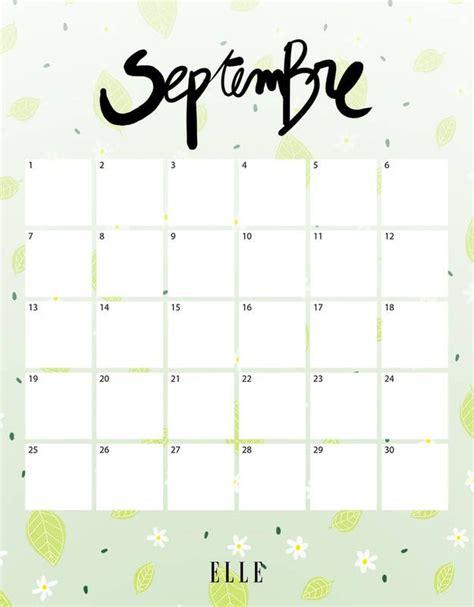 Calendrier 7 Septembre M 225 S De 1000 Ideas Sobre Calendrier Septembre En