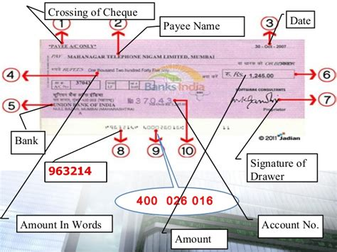 Who Is Drawer In Cheque by Cheque