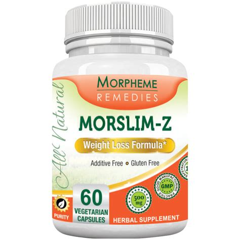 z supplements morslim z weight loss formula home remedies