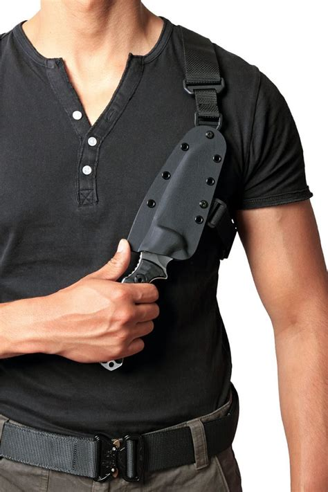 knife shoulder holster knife chest harness knife get free image about wiring