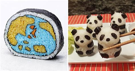 25 creative pieces of sushi that are too cute to eat