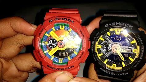 Jam Tangan G Shock Grade Ori cara membedakan g shock original dan ori bm kw