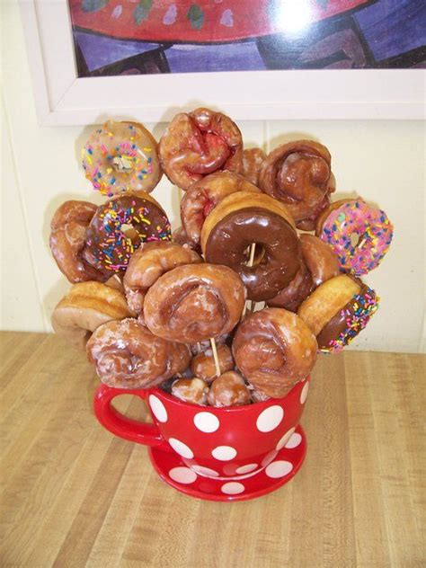 Snack Bouquet 6 donut bouquet donut bouquets donuts and bouquets