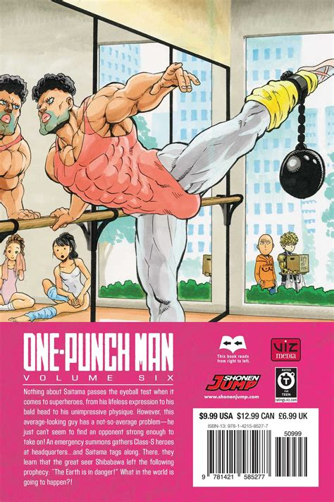 one punch vol 9 one punch volume 6