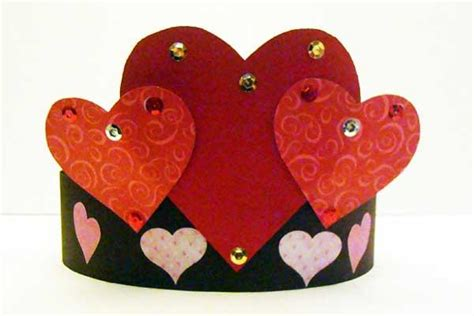 Paper Craft Ideas For Valentines Day - 3 s day paper crafts for